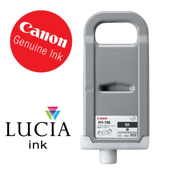 Canon ink PFI-706bk Black