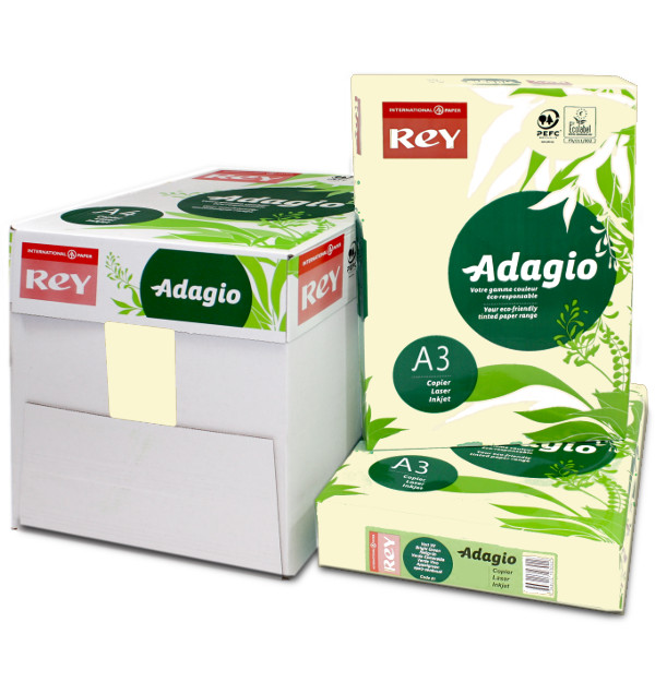 Adagio A3 Ivory White Coloured Printer Paper