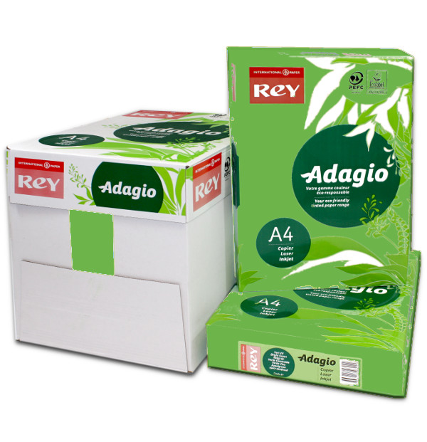 Adagio A4 Deep Green Box Ream