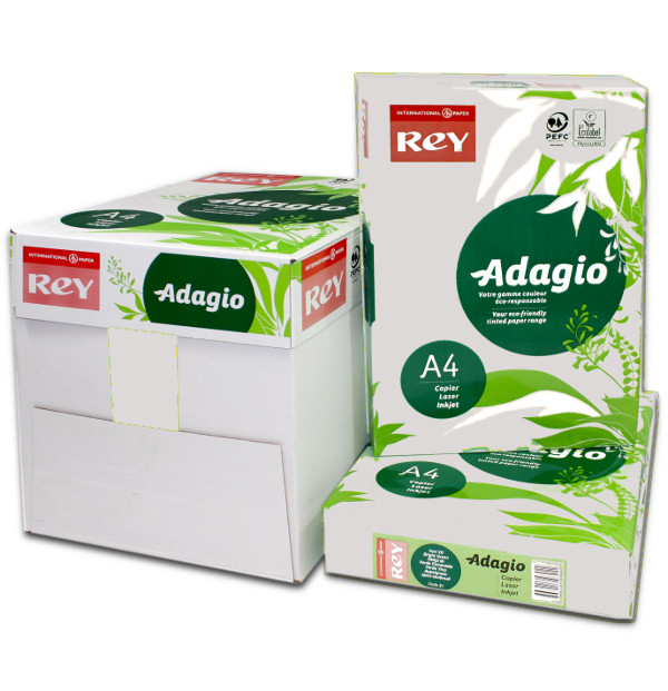 Adagio A4 Grey Box Ream