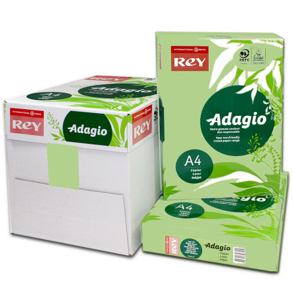 Adagio A4 Leaf Green Box Ream