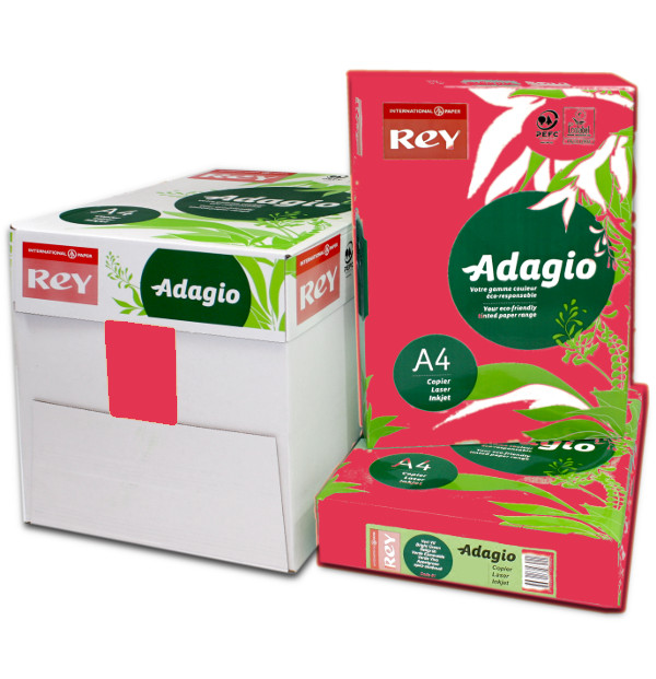 Adagio A4 Red Box Ream