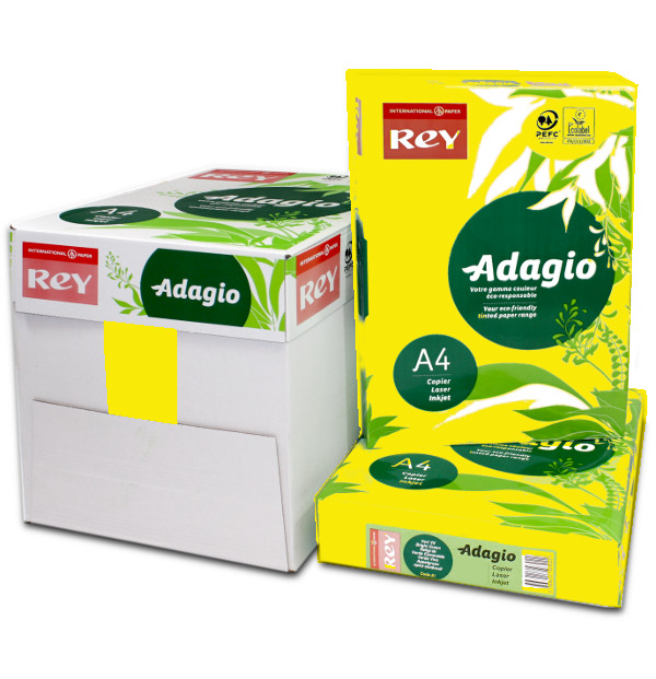Adagio A4 Yellow Box Ream