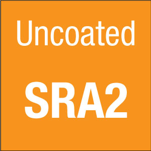 SRA2 Uncoated White Paper