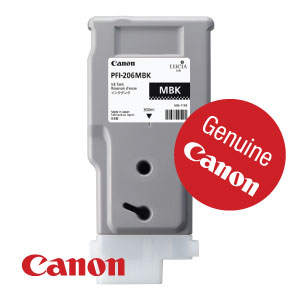 Genuine Canon PFI-206MBK from WL Coller