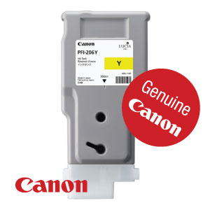 Genuine Canon PFI-206Y from WL Coller
