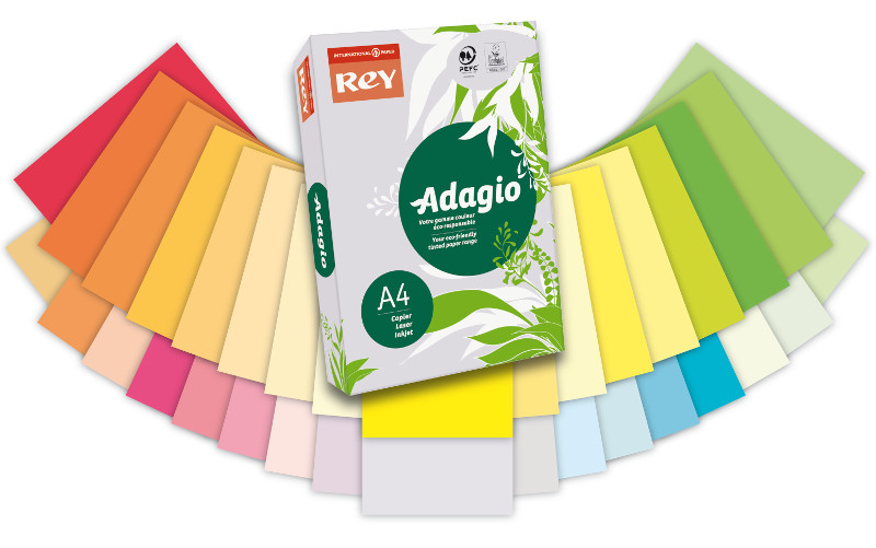 A4 80gsm Adagio Coloured Paper