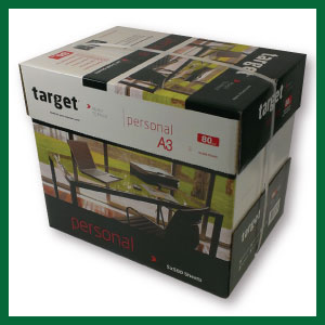 Target Personal 80g A3 WH80A3 Box