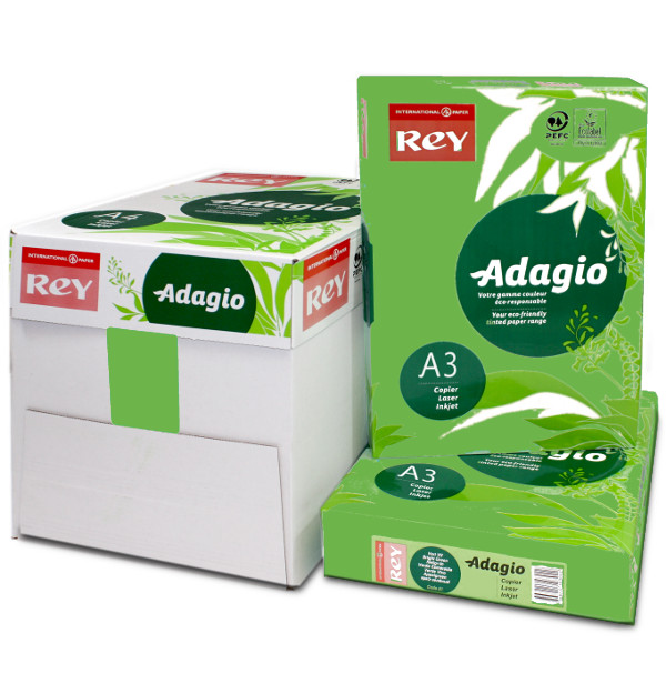 Adagio A3 Deep Green Box Ream