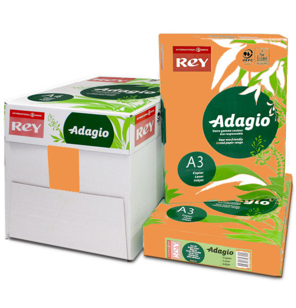 Adagio A3 Pumpkin Orange Printer paper & Card