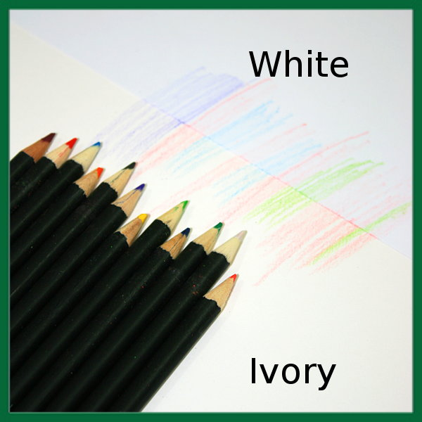 Ivory & White Drawing Cartridge Comparison