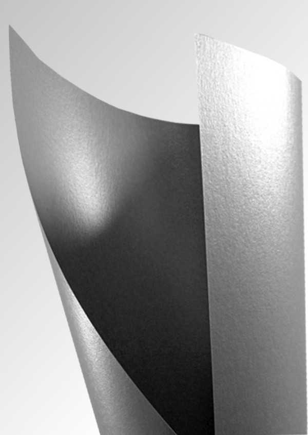 Silver Pearlescent Paper Platinum