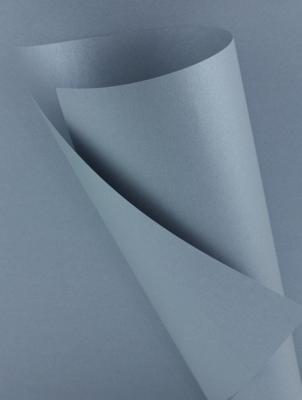 Pearlescent Silver Paper 120gsm