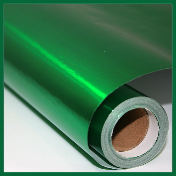 Green Metallic Wrapping Paper