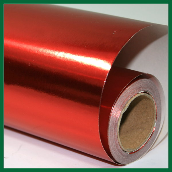 Metallic Red Wrapping Paper