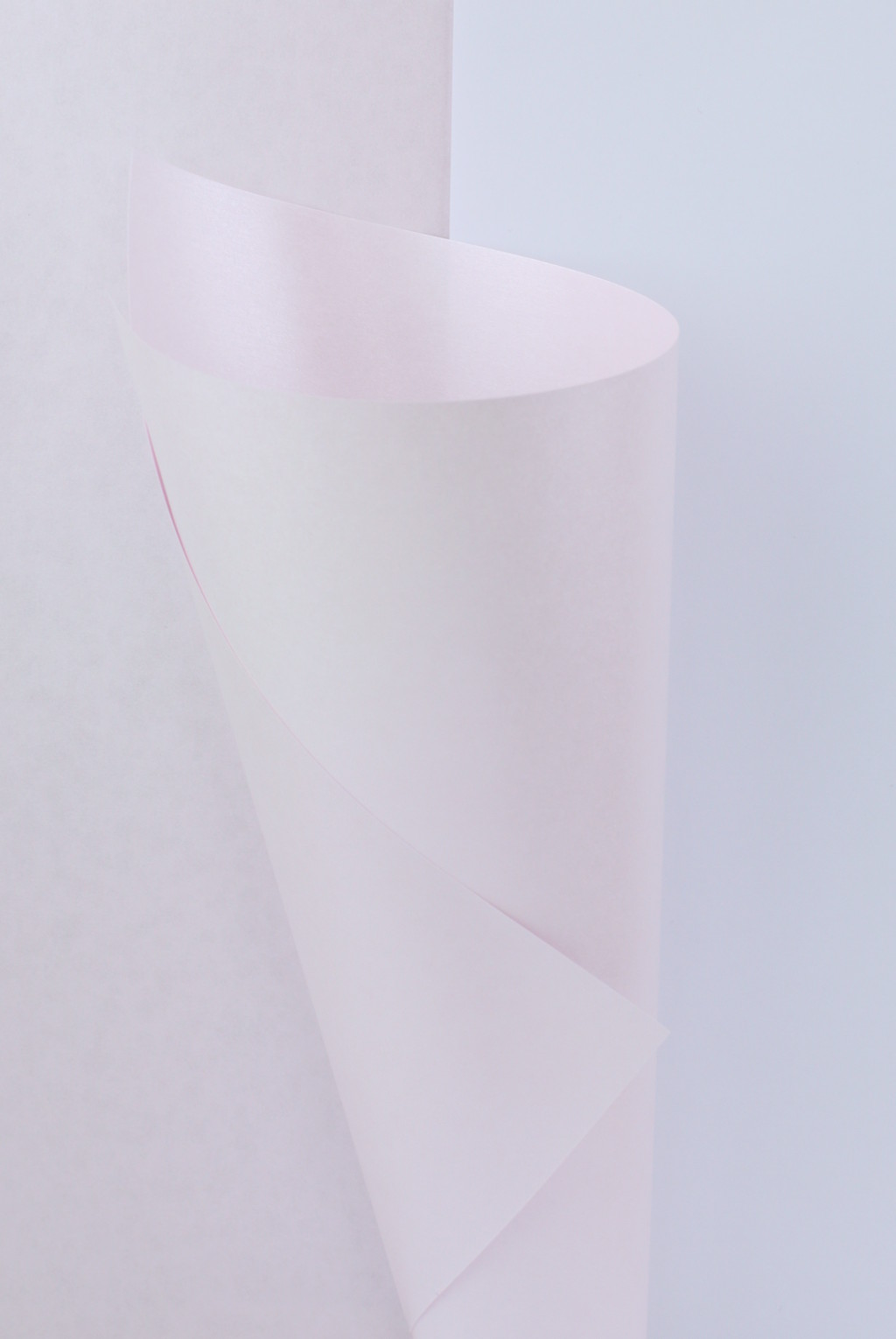 Baby Pink Pearlescent Paper 100gsm