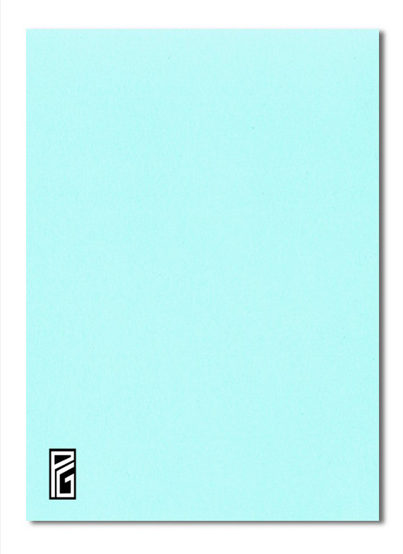 Pastel Blue Coloured Card