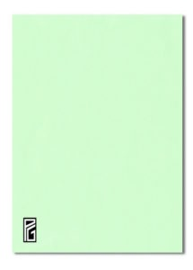 Pastel Green Coloured Card