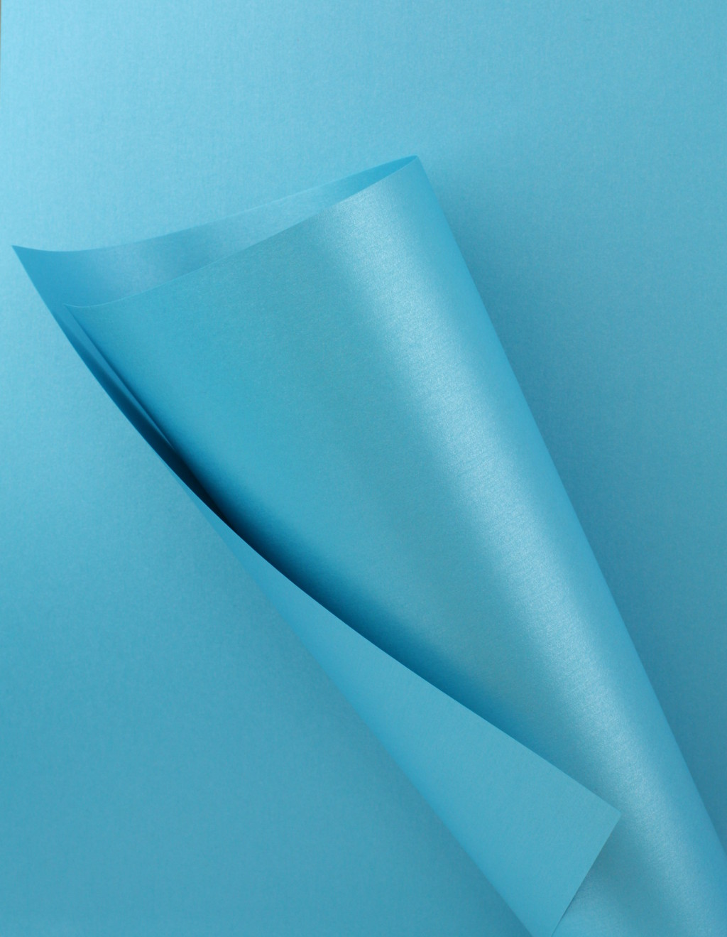 Pearlescent Blue Paper 120gsm