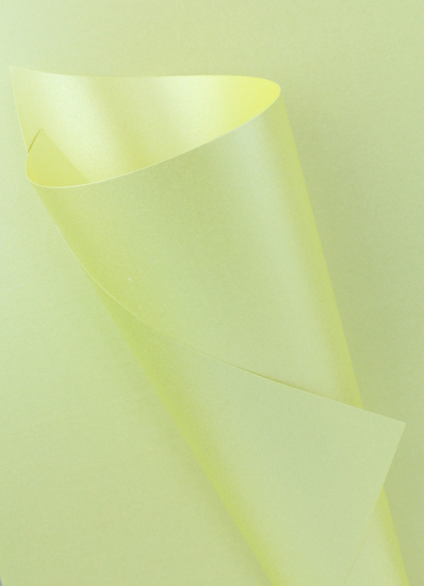 Pearlescent Lemon and Lime Paper 120gsm