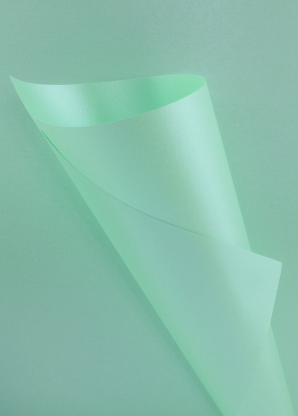 Pearlescent Mint Green Paper 95gsm