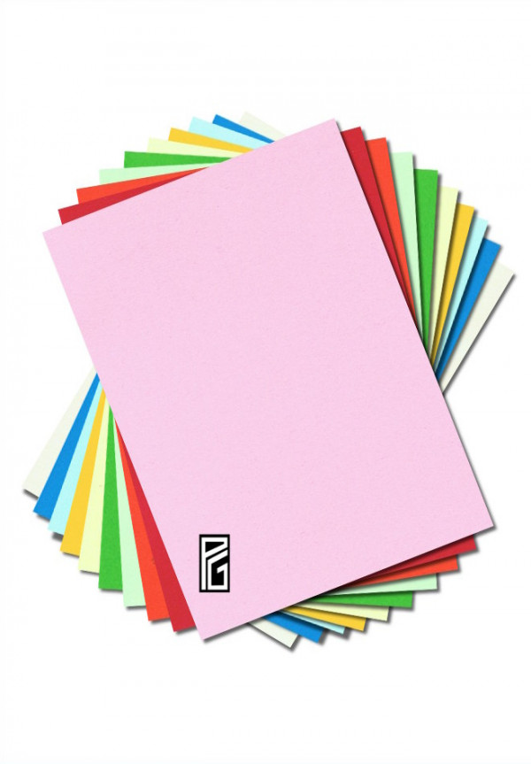 PG Thick Coloured Card Sample Pack