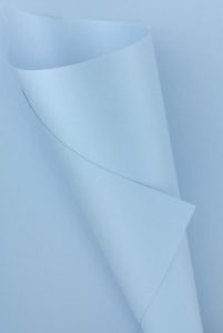 Pearlescent Baby Blue Paper 120gsm