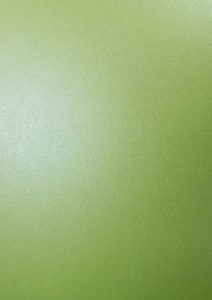 Pearlescent Olive Green Card