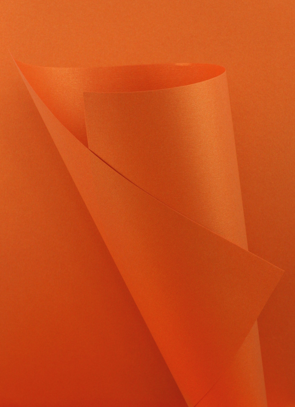 Pearlescent Orange Paper 120gsm