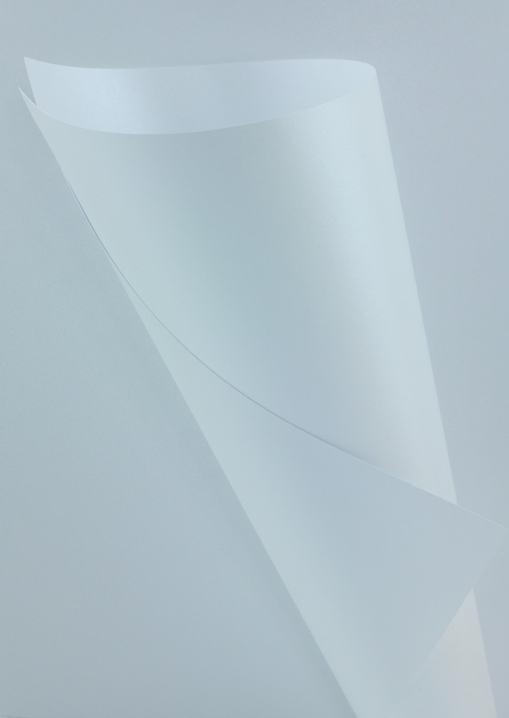 Pearlescent White Silver Paper 120gsm