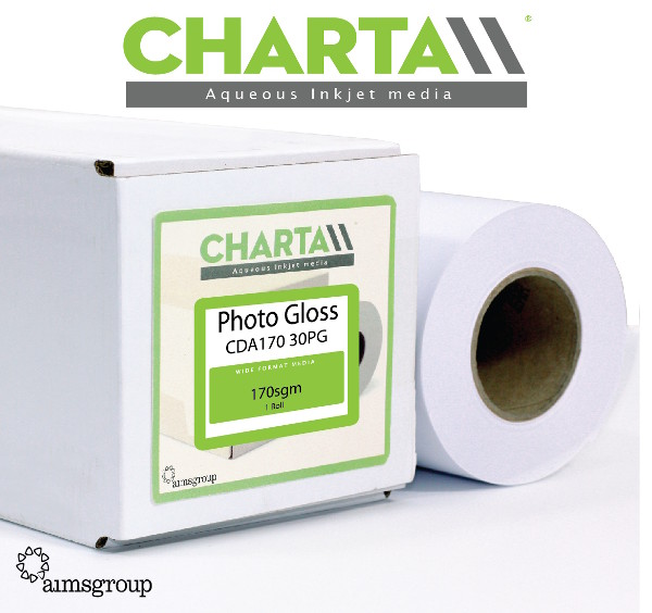 Charta Photo Gloss 170gsm Inkjet Roll