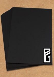 PG Black Paper & Card