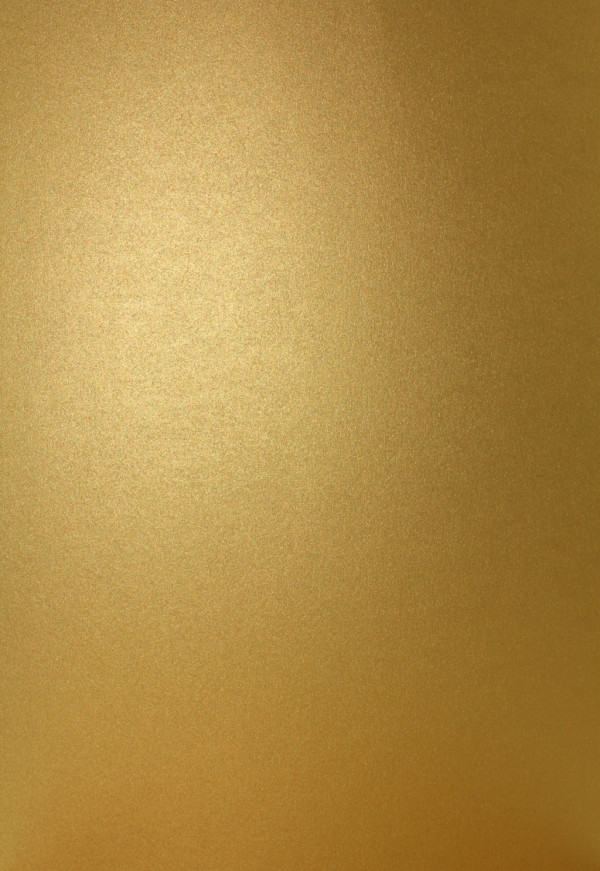 Pearlescent 230gsm Sirio Aurum Gold Card