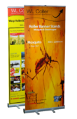 Mosquito Wasp Pre-printed Banner Stands