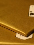 Kraft Wrapping Paper Gold 50gsm Wrapped Presents#2