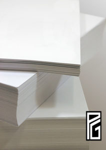 PG Warm White Card 330gsm