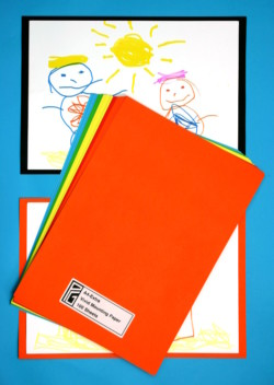A4-Extra Vivid Colours Mounting paper