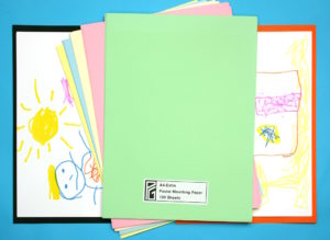 A4-Extra Pastel Coloured Mounting paper