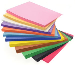 Sugar Paper sometimes called construction paper