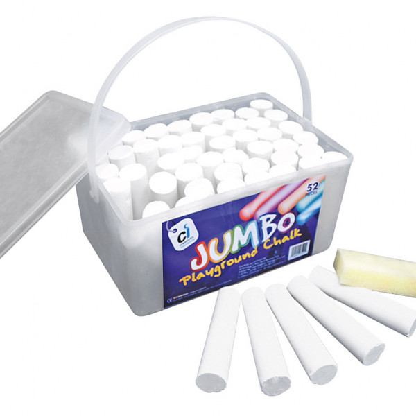 CS-1750 Jumbo White Chalk