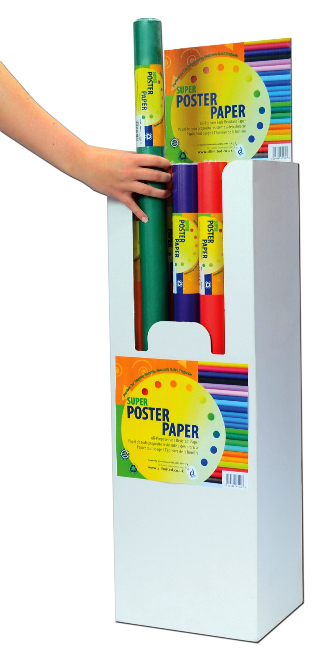 Poster Paper Stockroom Assortment 47002-CI101