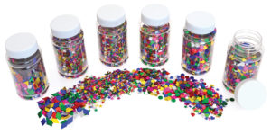 29103-CI-101 Sequins Collage Shapes Pack