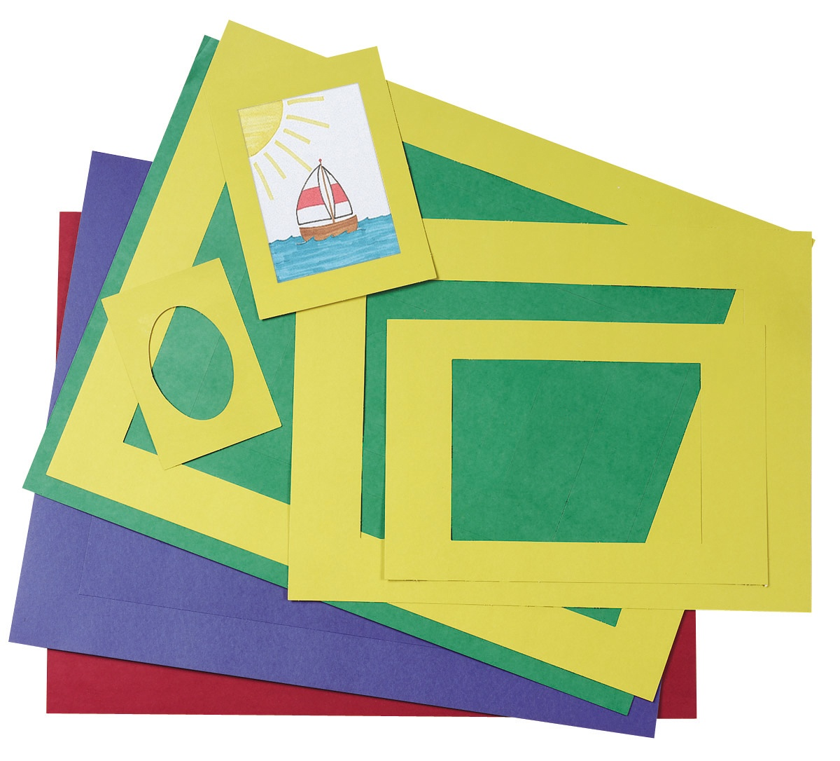 72550 Pre Cut School Artwork Frames