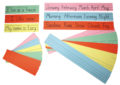 Ruled Writing Practice Strips