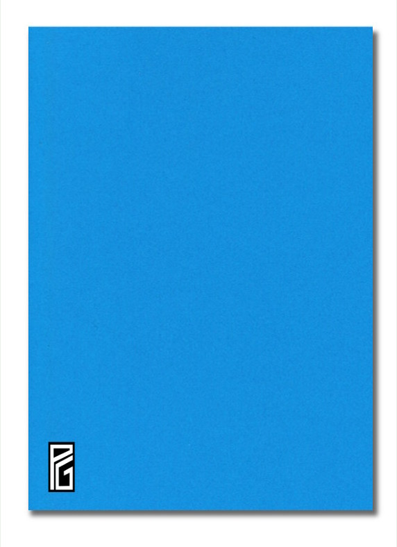Blue Coloured Card