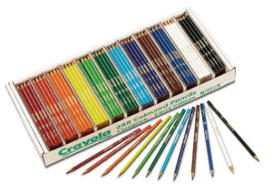 Crayola Coloured Pencils 288 Class Pack