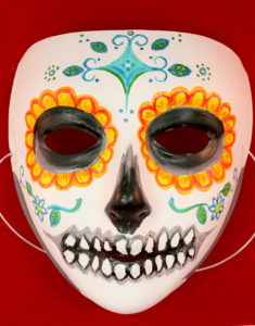 Face Mask Day of the Dead