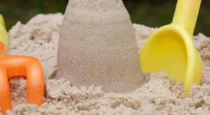 Uncoloured Play Sand