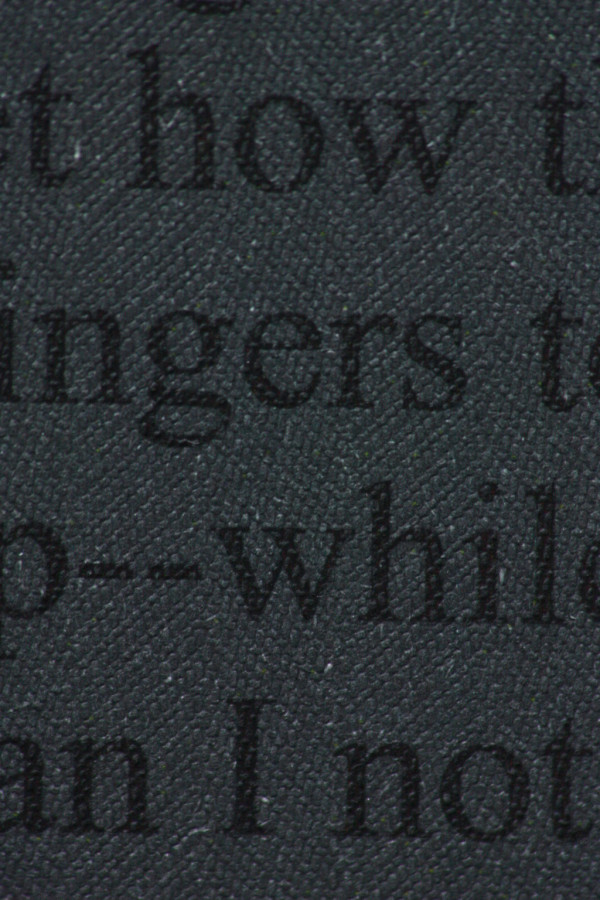 Savile Row Tweed Dark Grey Paper 100gsm Closeup