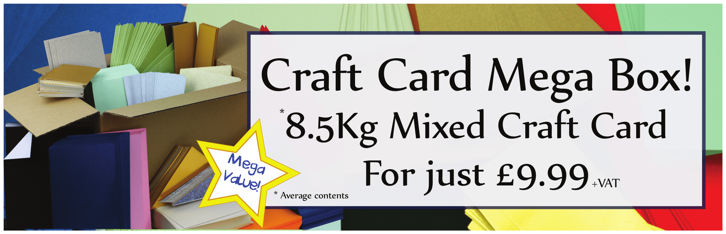 Mega Box of Craft Card